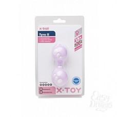 Вагинальные шарики фиолетовые 3,5см (XT20020-12)
