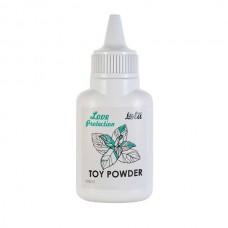 Пудра для игрушек ароматизированная Love Protection Мята 15гр