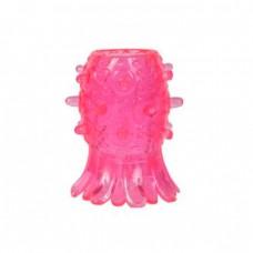 Эрекционная насадка «Лепестки», цвет розовый, Gopaldas 2K754CPR BCD GP