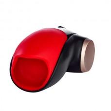 Мастурбатор FunFactory Cobra Libre II, красный/черный