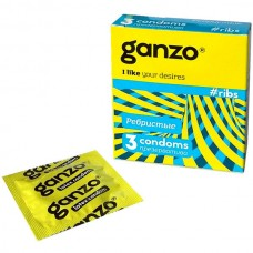 Презервативы Ganzo Ribs № 3 Ребристые