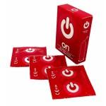 Презервативы ON super thin (3 шт.) - ультратонкие (ширина 54mm)