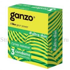Презервативы Ganzo Ultra thin № 3 Супер тонкие