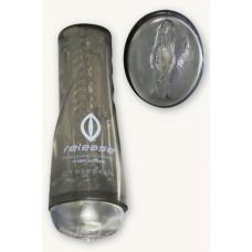 Мастурбатор вагина в тубе прозрачный с вибрацией (TS1600457)