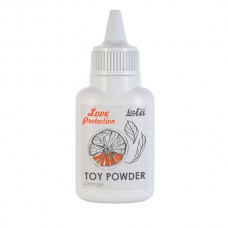 Пудра для игрушек ароматизированная Love Protection Orange 15g