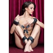 Комплект бондажный наручноки-оковы (704004 Theatre)