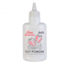 Пудра для игрушек ароматизированная Love Protection Вишня 15гр
