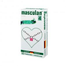 Презервативы Masculan Ultra 4, 10 шт. Ультра прочные