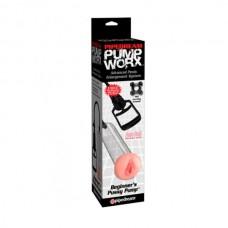 Вакуумная помпа для мужчин Pump Worx Beginner's Pussy Pump (PD3288-00)