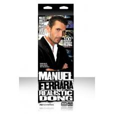Фаллоимитатор MANUEL FERRARA на присоске телесный
