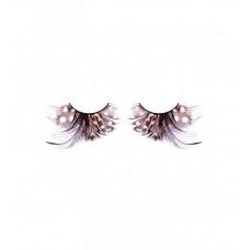 Ресницы коричневые-чёрные перья (BL626)