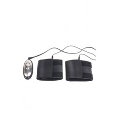 Наручники Obedience Kit для электростимуляции черные