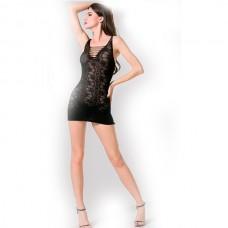 Кружевное мини-платье с цветочным принтом Femme Fatale