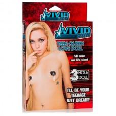 Кукла надувная  Vivid Raw Teen Queen Love Doll телесная