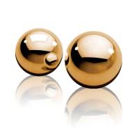 Вагинальные шарики металл золото
