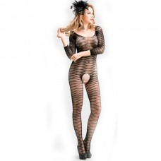 Кетсьюит-сетка с рукавами и доступом Femme Fatale