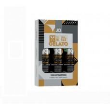 Подарочный набор вкусовых лубрикантов Tri-Me Triple Pack - Gelato