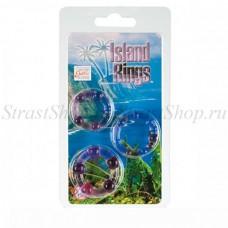 Комплект из 3-х эрекционных колец Island Rings (SE-1429-04-2)