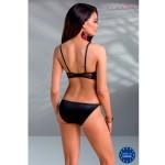 Комплект черный с открытой грудью Mirella (Casmir) (S/M)