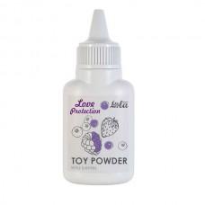 Пудра для игрушек ароматизированная Love Protection Лесные ягоды 15гр